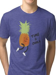Time to Chill Pineapple Tri-blend T-Shirt