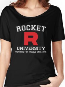 Team Rocket University Women's Relaxed Fit T-Shirt