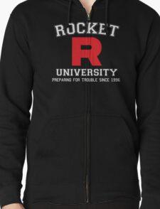 Team Rocket University Zipped Hoodie