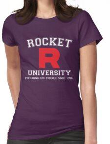Team Rocket University Womens Fitted T-Shirt