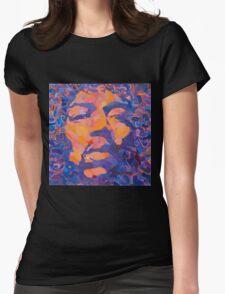 Jimmi Hendrix Womens Fitted T-Shirt