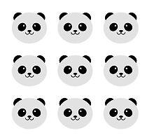 Panda Party by ianupcott