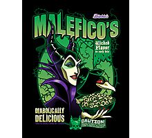 Malefico's - Wicked Flavor In Each Bite! Photographic Print