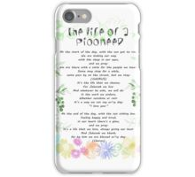 "the life of a pioneer"" sing 140 iPhone Case/Skin"
