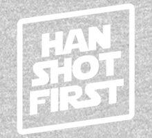 Han Shot First  Baby Tee