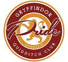Gryffindor Pride Photographic Print