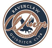 Ravenclaw Wings Photographic Print