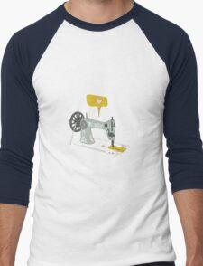 Love to Sew Men's Baseball ¾ T-Shirt