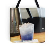 Blue Cocktail Tote Bag