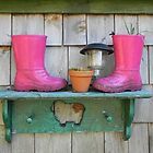 Pink Boots by Martha Medford