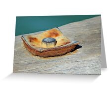 Rusting Beauty Greeting Card