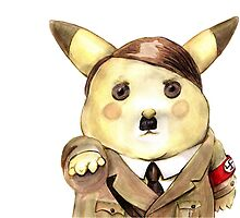 Adolf Pikachu by stathismori