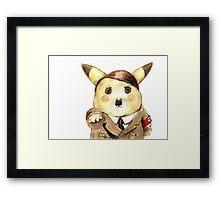 Adolf Pikachu Framed Print