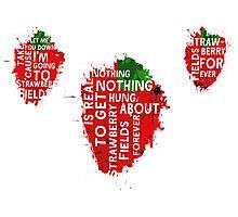 Strawberry fields Photographic Print