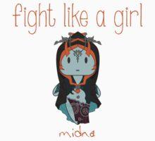 Fight Like a Girl   Twilight Princess Kids Clothes
