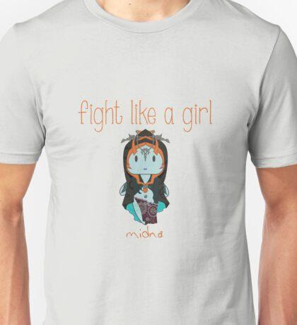 Fight Like a Girl | Twilight Princess Unisex T-Shirt