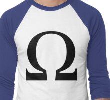 Omega Symbol  Men's Baseball ¾ T-Shirt