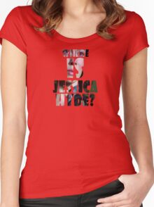 Utopia - T-Shirt - Where Is Jessica Hyde? (2) Women's Fitted Scoop T-Shirt