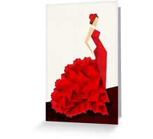 The Dancer (Flamenco) Greeting Card