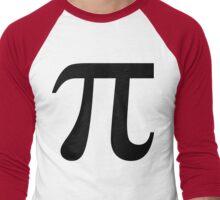 Pie Symbol 3.14 Men's Baseball ¾ T-Shirt