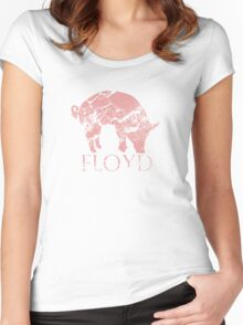 Pig Floyd Women's Fitted Scoop T-Shirt