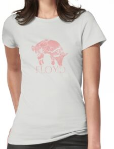 Pig Floyd Womens Fitted T-Shirt