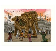 The Maharaja's New Toy Art Print