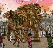 The Maharaja's New Toy by Pete Katz