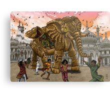 The Maharaja's New Toy Metal Print