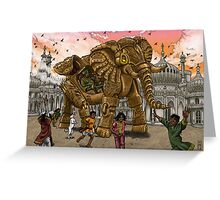 The Maharaja's New Toy Greeting Card