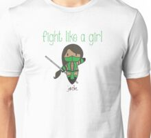 Fight Like a Girl | Friend Warrior Unisex T-Shirt