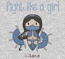 Fight Like a Girl - Princess One Piece - Long Sleeve