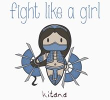 Fight Like a Girl - Princess Kids Tee
