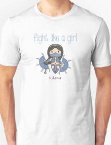 Fight Like a Girl - Princess T-Shirt