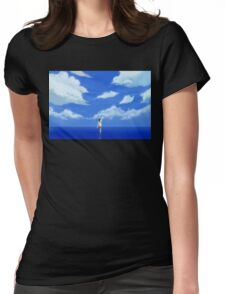LOST IN A DREAM Womens Fitted T-Shirt