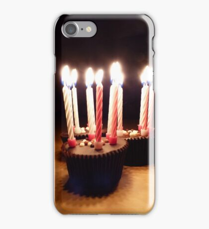 Birthday Candles iPhone Case/Skin