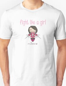 Fight Like a Girl - Clone Unisex T-Shirt