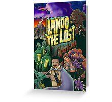 Lando The Lost Greeting Card