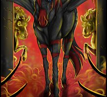MLP OC realism - Ka the Evil by Furiarossa