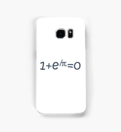 THE BEAUTIFUL EQUATION: EULER'S IDENTITY Samsung Galaxy Case/Skin