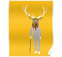 Gentleman stag Poster
