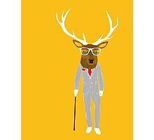 Gentleman stag Photographic Print