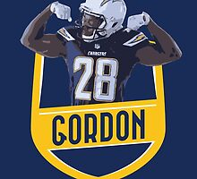 Melvin Gordon - San Diego Chargers by twyland