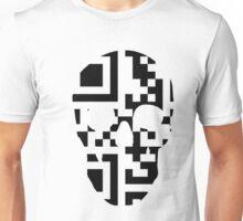 QR Code Skull Unisex T-Shirt