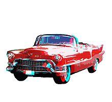 3D Cadillac Photographic Print