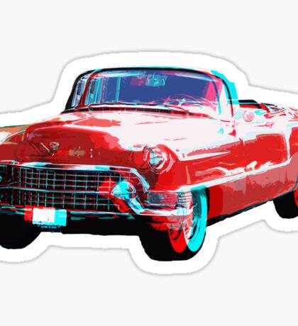3D Cadillac Sticker