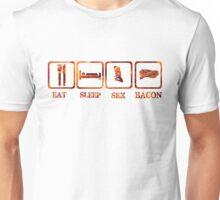 Eat Sleep Sex Bacon T-Shirst & Hoodies Unisex T-Shirt