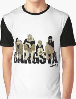 Gangsta anime manga Graphic T-Shirt