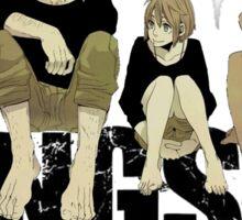 Gangsta anime manga Sticker