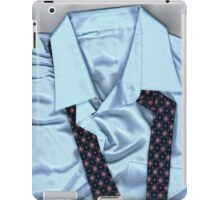 Saturday Morning - Men's Fashion Art By Sharon Cummings  iPad Case/Skin